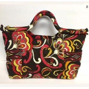 Vera Bradley Gabby Clutch Handbag Puccini Pattern